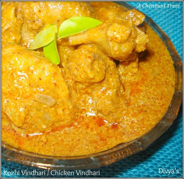 Kozhi Vindhari / Chicken Vindhari: Food Porn, Asian Food, Chicken Vindhari, Kozhi Vindhari, Cooking Indian, Indian Food, Chettinad Recipe Thi, Food Recipe, Indian Recipe