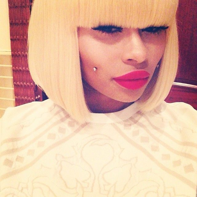 Blac Chyna - perhaps the most creative hair and makeup urban styles thus far. I absolutely love her daring creativity for fashion as well