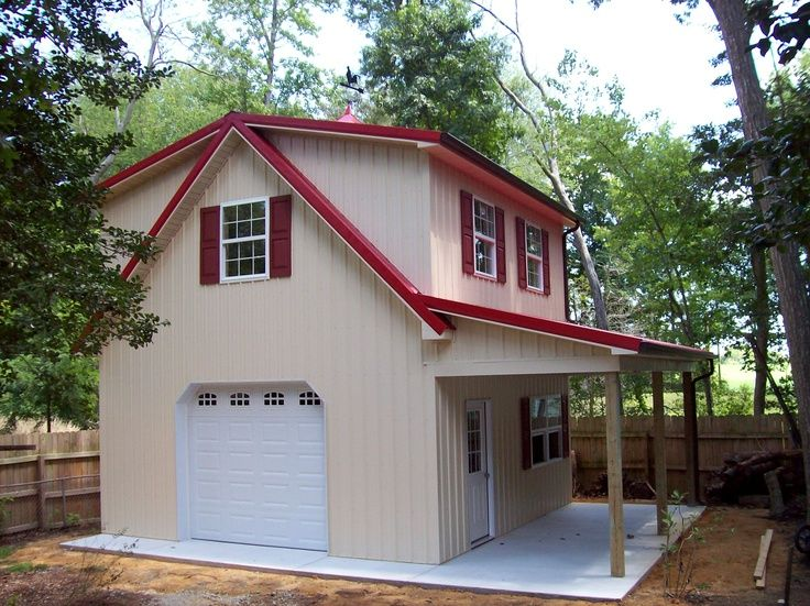 Image result for images of small pole barn homes small for Small metal barns
