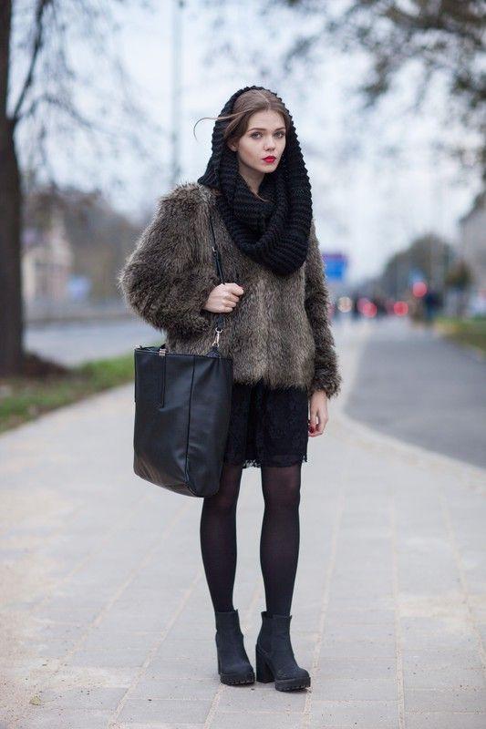Street fashion: Fashion Week Poland wiosna-lato 2015, fot.Szymon Brzóska/East News