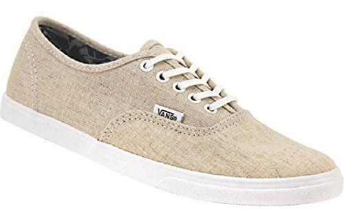 Vans Unisex Authentic Lo Pro Skate Shoe Tan Size 7.0