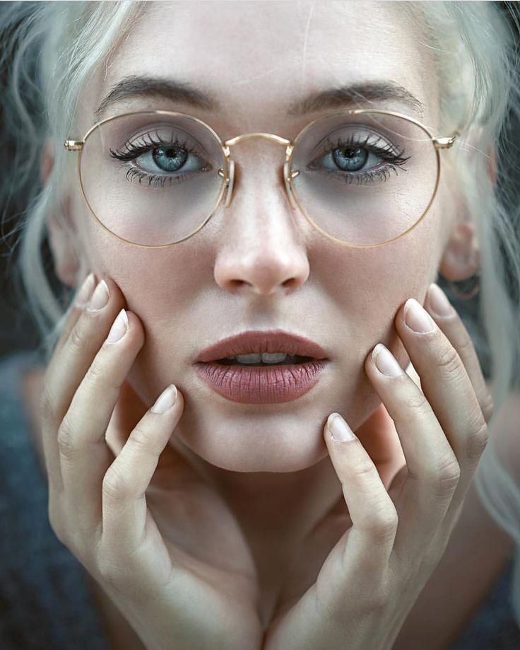 lunettes rondes à monture en or – #à #en #Lunett…