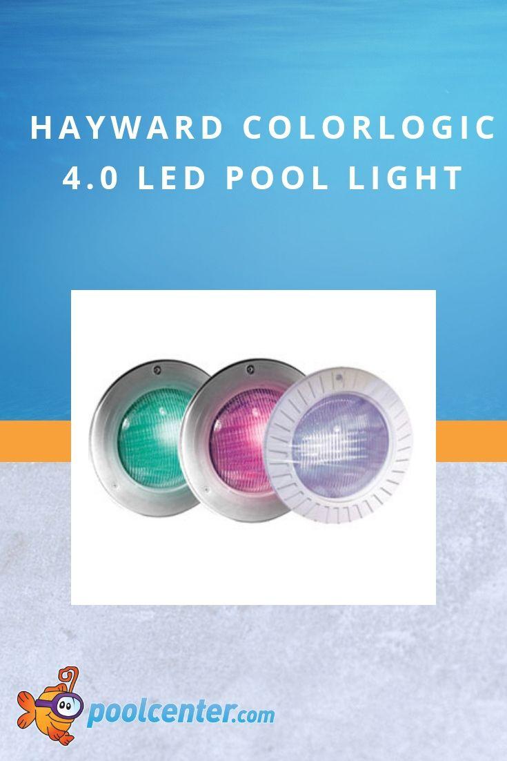 Hayward Colorlogic 4 0 Led Pool Light 120v 100 Ft Cord With