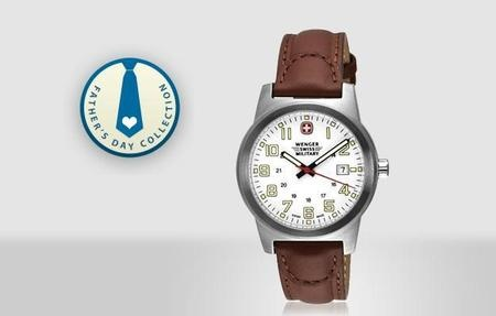 58% off - $75 for Wenger Men's Classic Field Swiss Military Watch 72900 + free shipping from SwissOutpost.com + cash back #spreadsave