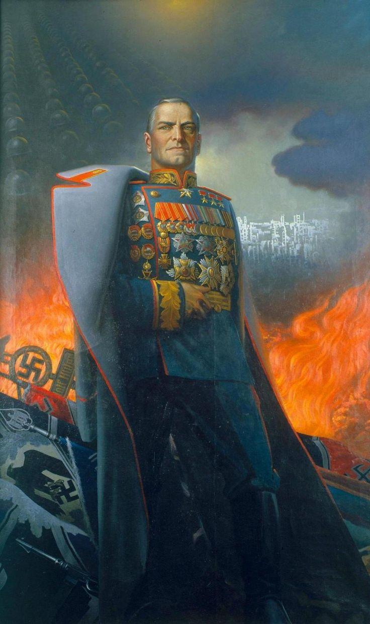 Zhukov, Soviet Army Marshal,