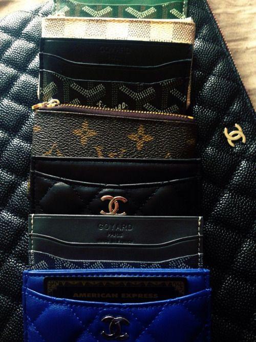 LV, Goyard, Chanel