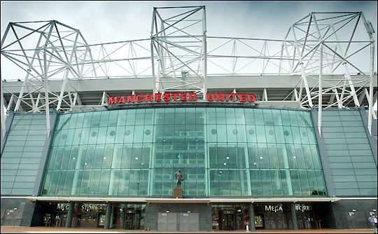 Old Trafford ... Manchester United