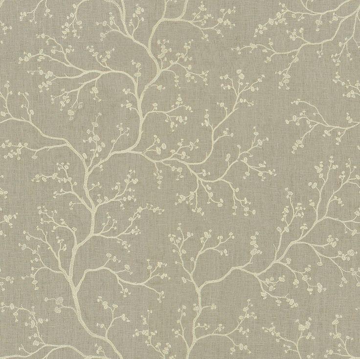 Kravet Couture Fabric 9892.16 Night Blossom Honeydew