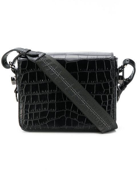 28d5b7218183 Off-White Embossed Crossbody Bag - Farfetch | HANDBAGS | Bags ...