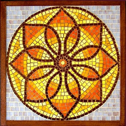83 Best Mandala Mosaic Ideas Images On Pinterest Mosaic