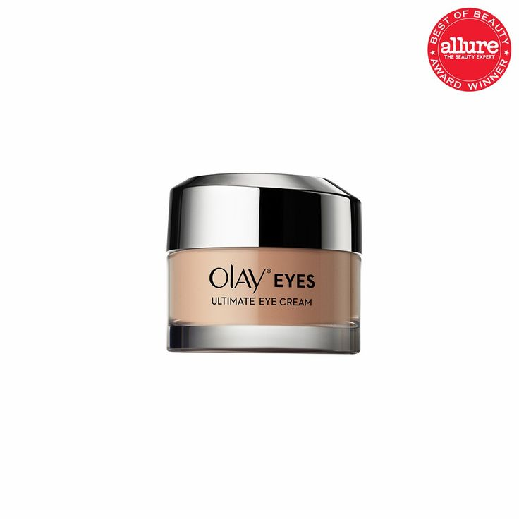 MOISTURIZING, DAY The Olay Eyes Ultimate Eye Cream uses peptides to smooth lines, and the peach tint does enough circle-camouflaging that you might skip concealer.