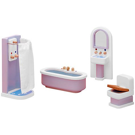 Buy John Lewis Doll's House Accessories, Bathroom Online at johnlewis.com