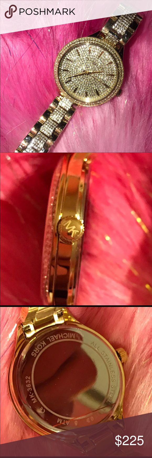 Michael Kors Gold Slim Runway Watch Brand new, tags still on, get it sized at an Michael Kors! Sorry no box. MICHAEL Michael Kors Accessories Watches
