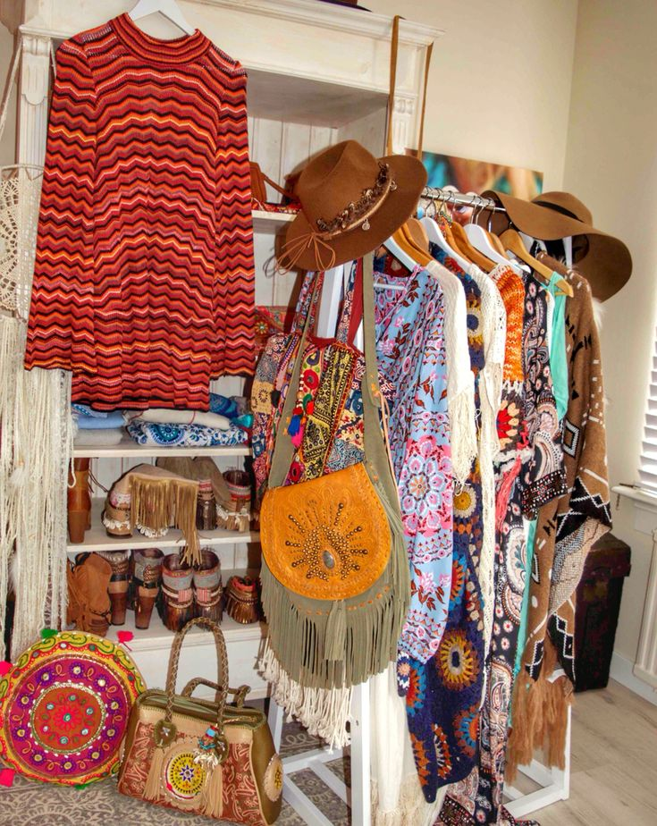 Boho closet ready for autumn!