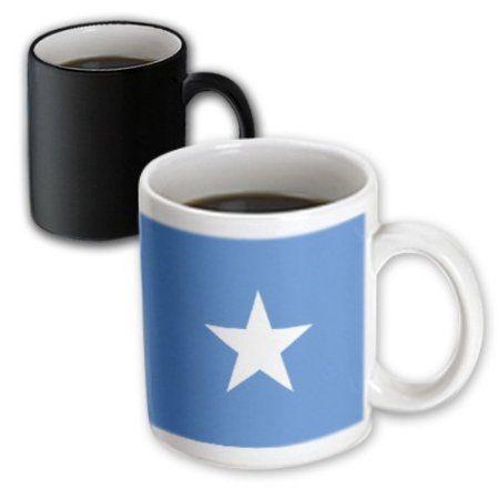 3dRose Somalia Flag, Magic Transforming Mug, 11oz