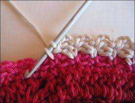 10 different crochet edges.
