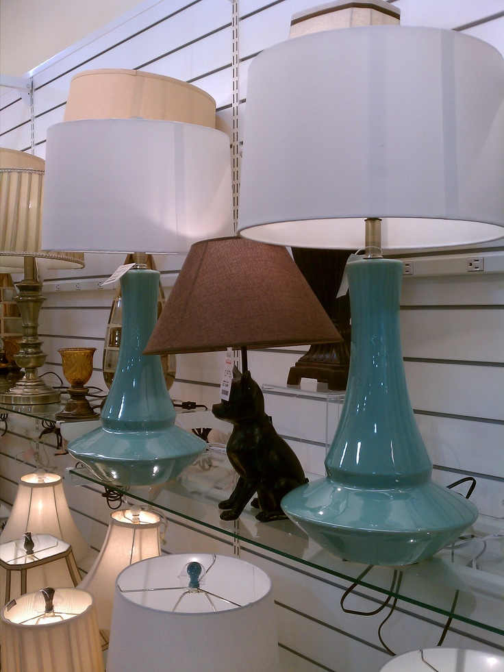 great turquoise lamps   HomeGoods. 121 best HOMEGOODS DECOR images on Pinterest
