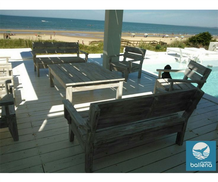Sala de estar para exteriores. Relájate y goza del relax con tu vista preferida.