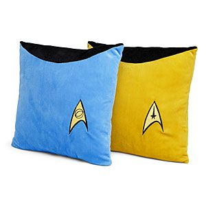 Star Trek TOS Pillows-to boldly throw where no pillow has been thrown before!