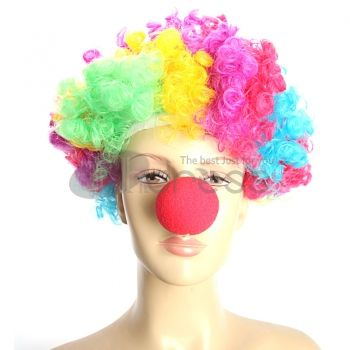 Halloween Clown Accessories Funny Red Nose