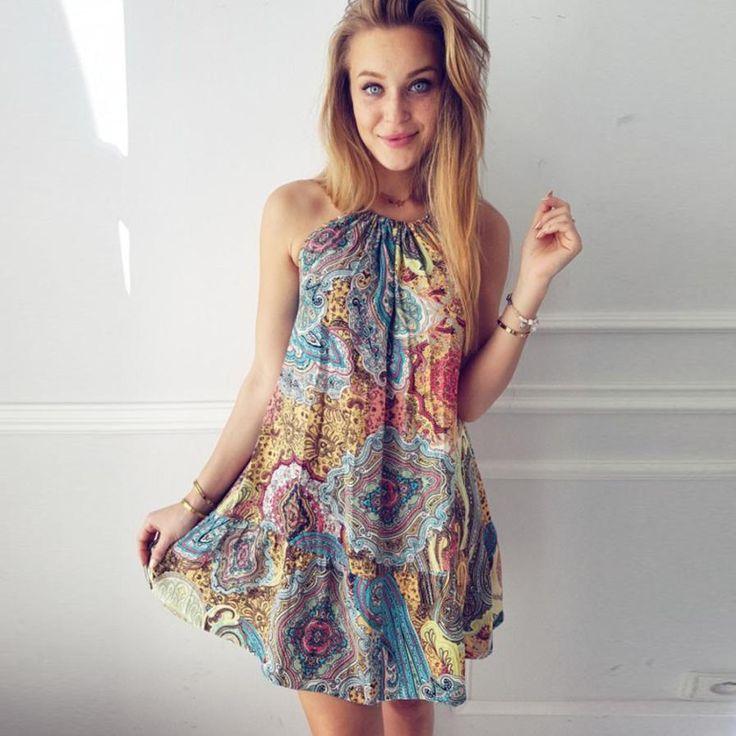 Beautiful Boho Dress. Get yours now at www.floweringfringe.com