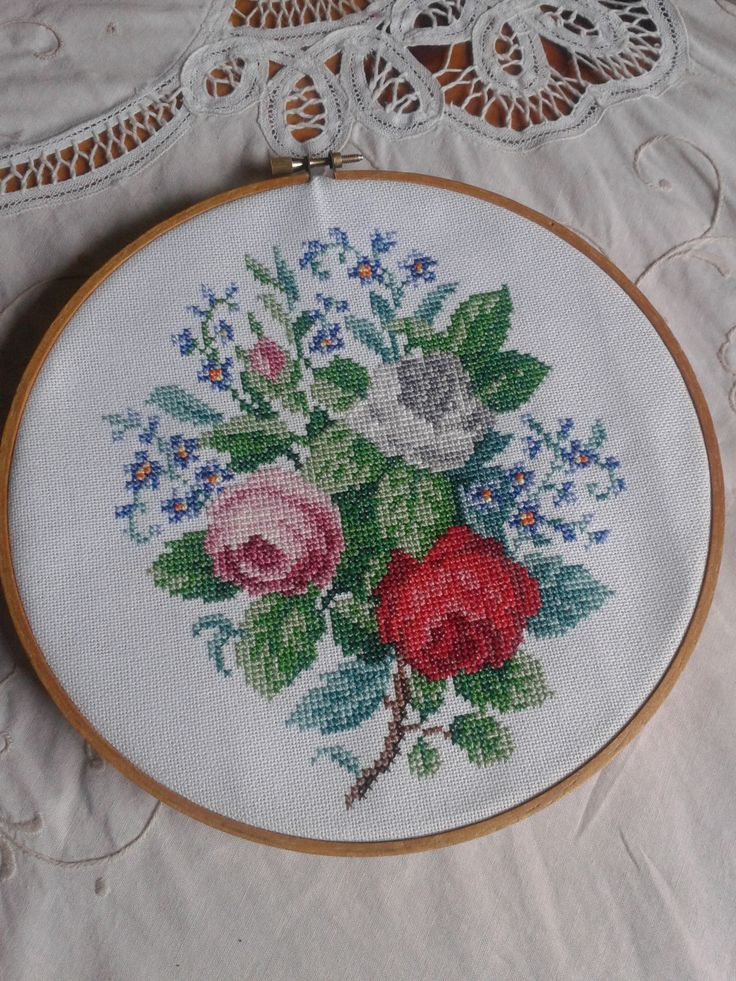 Vintage cross stitch by Lily B.  www.facebook.com/lilybedilly