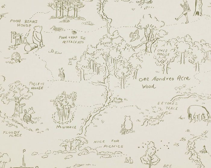 Wallpaper 100 Acre Wood Home Pinterest Charcoal