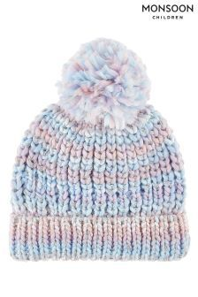 736f8a34adb Blue Monsoon Maggie Rainbow Yarn Bobble Hat