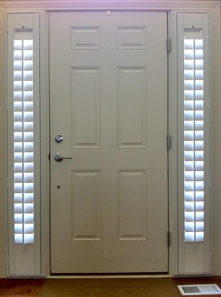 Entry Door Sidelight Window Shutters Front Porch Pinterest Doors And