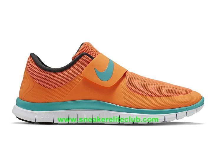 Nike Free Socfly Chaussure De Course Pas Cher Pour Homme Orange Bleu 724851-800-1603192051 - Chaussure Nike BasketBall Magasin Pas Cher En Ligne!