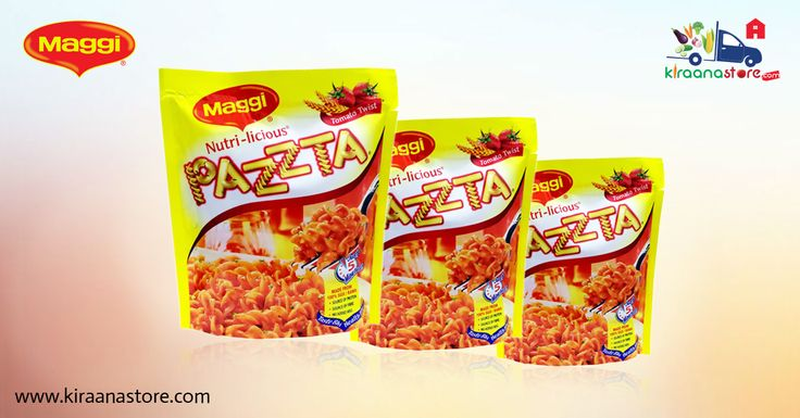 #Maggi #Pazzta #Tomato 64GM @ Rs. 25/- Only on Kiraanastore.com. Get Fast Home Delivery!!