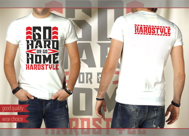 HARDSTYLE WEEKEND FESTIVAL  Men T-shirt White Size: S-XXL (HS610) #SOLS #Hardstyle