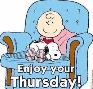 Enjoy Thursday Quotes