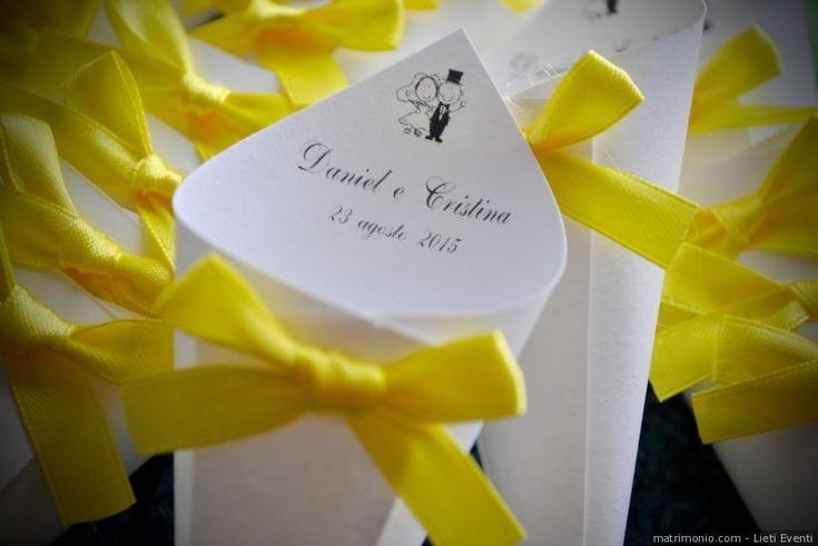Coni portariso: tante idee e consigli per le vostre nozze in giallo!