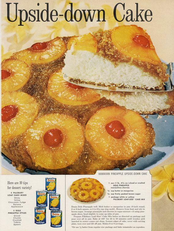 Pineapple Upside Down Cake Pillsbury Recipe