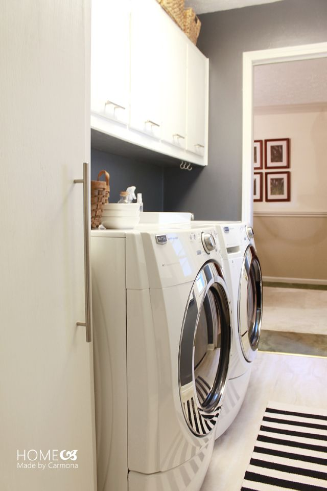 Gorgeous Laundry Room Makeover That Will Make You Actually Want To Do  Laundry!