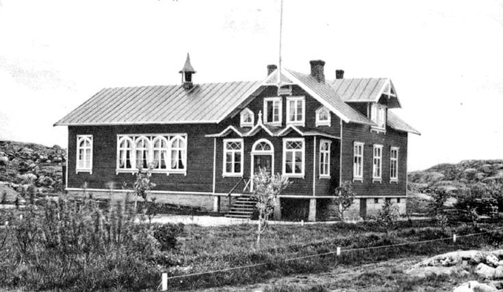 Folkets Hus på Malmön. Foto från Bohusläns Museum.
