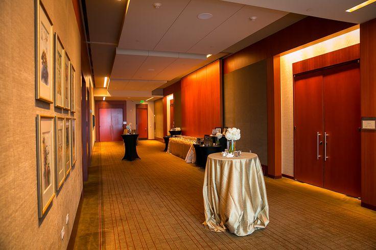 Foyer Reception Area : Ballroom foyer reception area wedding four seasons