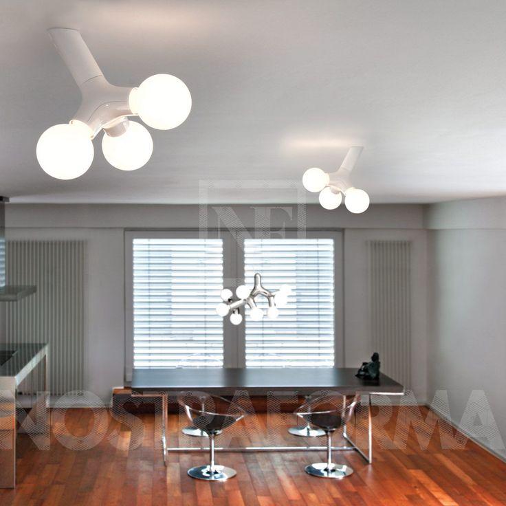next DNA Wand- und Deckenleuchte » NOSTRAFORMA Design-Shop für Leuchten & Lampen