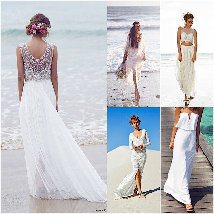 Casual beach wedding dresses pinterest bridesmaid dresses for Wedding dresses casual beach