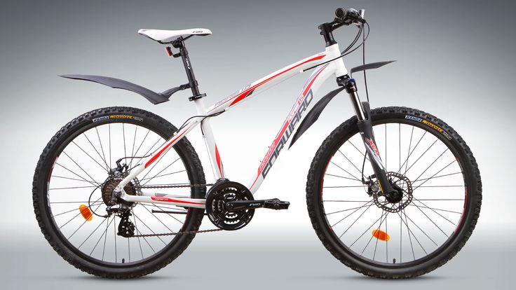 Велосипеды спортивные горный 26 Agris 1.0 disc белый