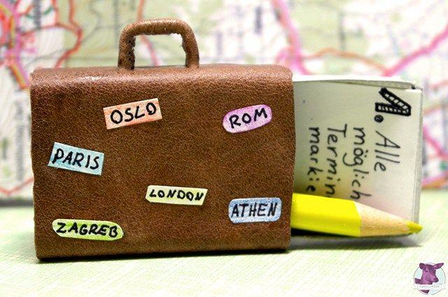 Bastelidee Reisegutschein