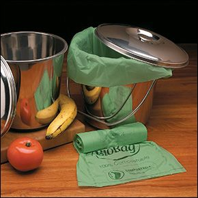 Compostable Bags - Gifts. I use these in my compost pail. Empty regularly as they decompose quickly!