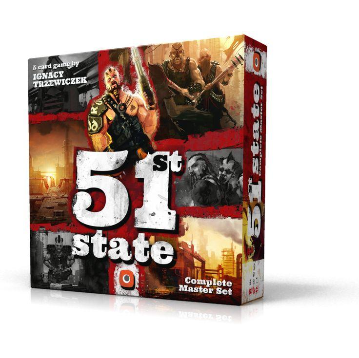 51st State Master Set Card game. Artist: Piotr Foksowicz. Design: Rafał Szyma