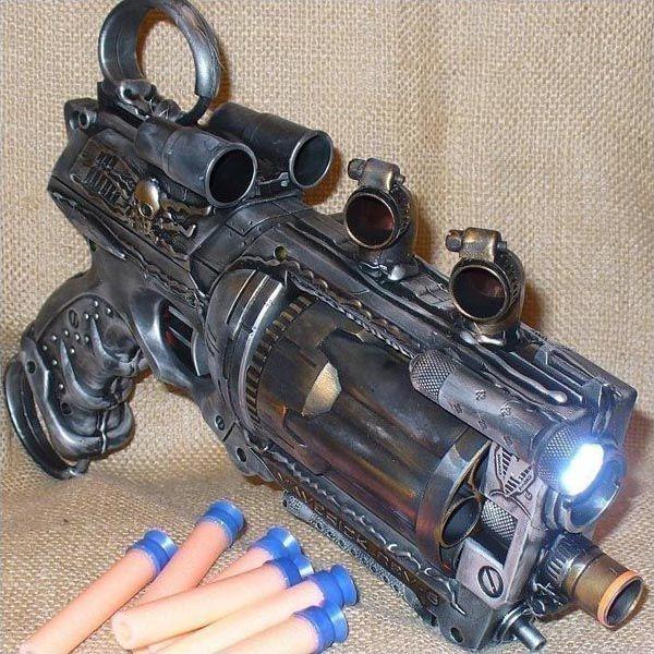 handmade_steampunk_nerf_n_strike_maverick_blaster_1