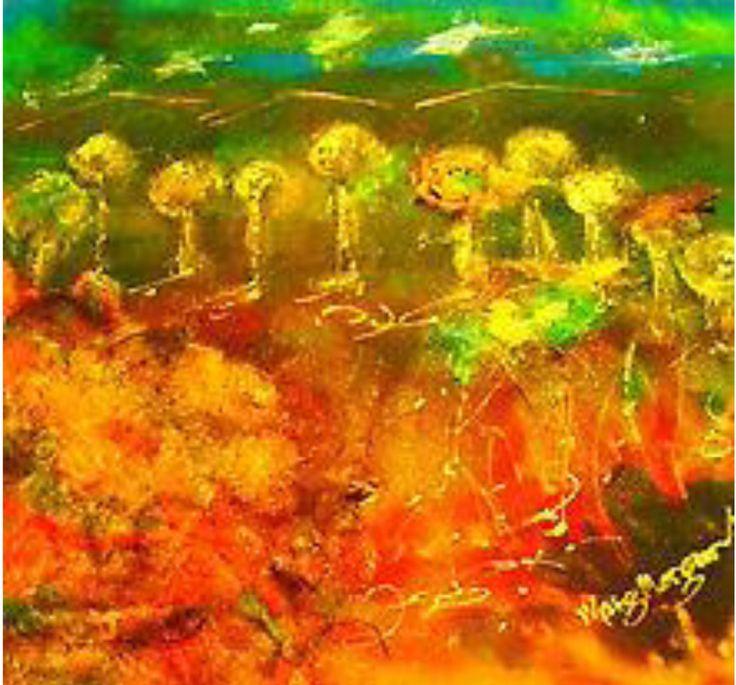 """Outback OZ (Framed)"" by Margaret Morgan (Watkins). Paintings for Sale. Bluethumb - Online Art Gallery"