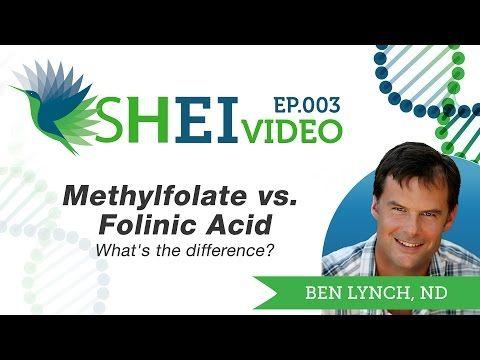 Methylfolate vs. Folinic Acid