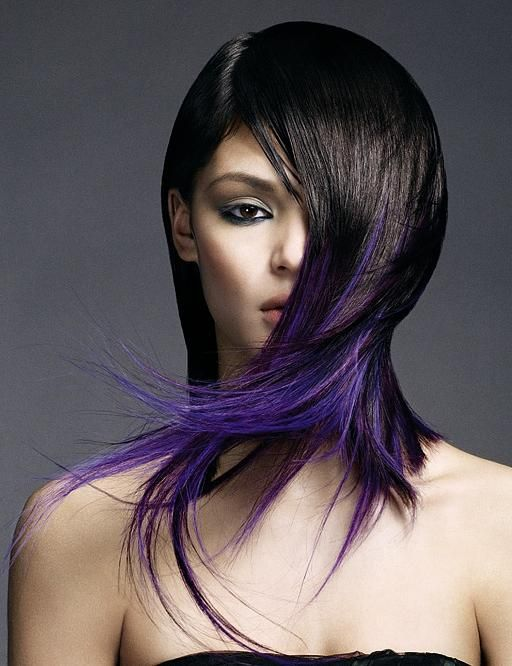 long short hair styles 116 best hairs images on coloured hair 9739 | 49777709aa2b10788b0997e9739fe066 purple tips the purple