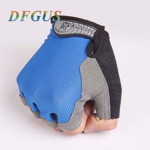 Unisex Men Women Weight Lifting Gloves Sports Gym Body Building Training Fitness Exercise Workout Wrist Wrap Half Finger Mittens