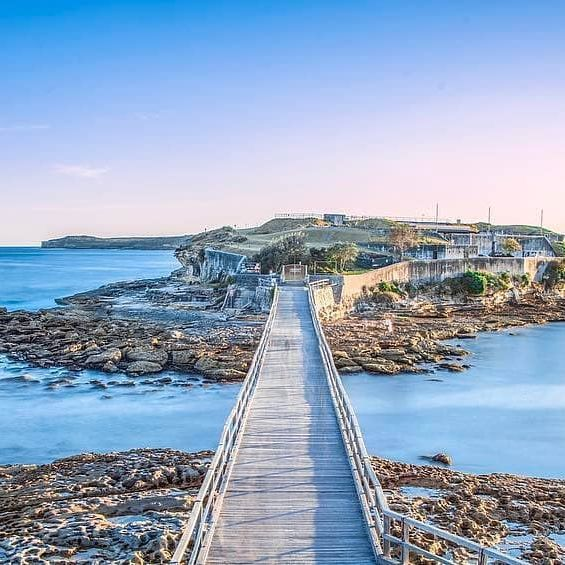 We can BAREly believe how picturesque Bare Island Fort looks  Aside from being known as a filming location for the Mission: Impossible 2 movie, the water surrounding it is also one of the most popular scuba diving sites in Sydney.